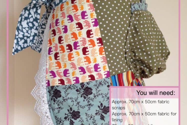 The Tailoress PDF Sewing Patterns - Patchwork Apron Tutorial