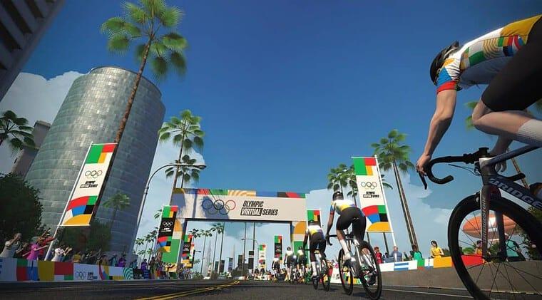 Zwift Olympic Virtual Series