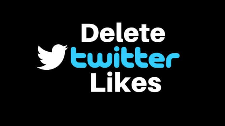 Bulk Delete Twitter Likes in 4 Fastest ways