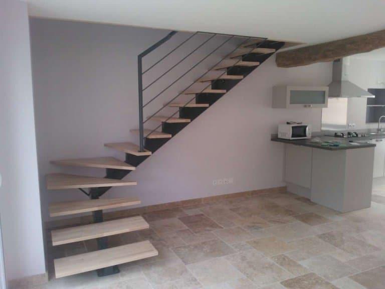 Лестница на одном косоуре1