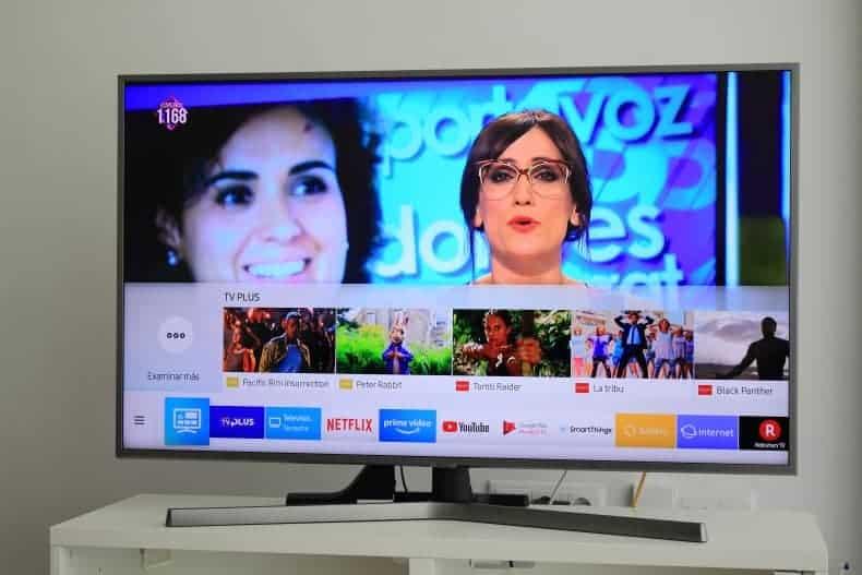 Copiar la lista de canales en un TV Samsung