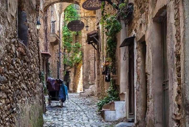 Bussana Vecchia, Italy. Artist Colonies