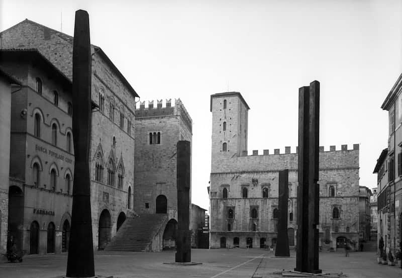Todi Columns, Todi, Italy, 1979