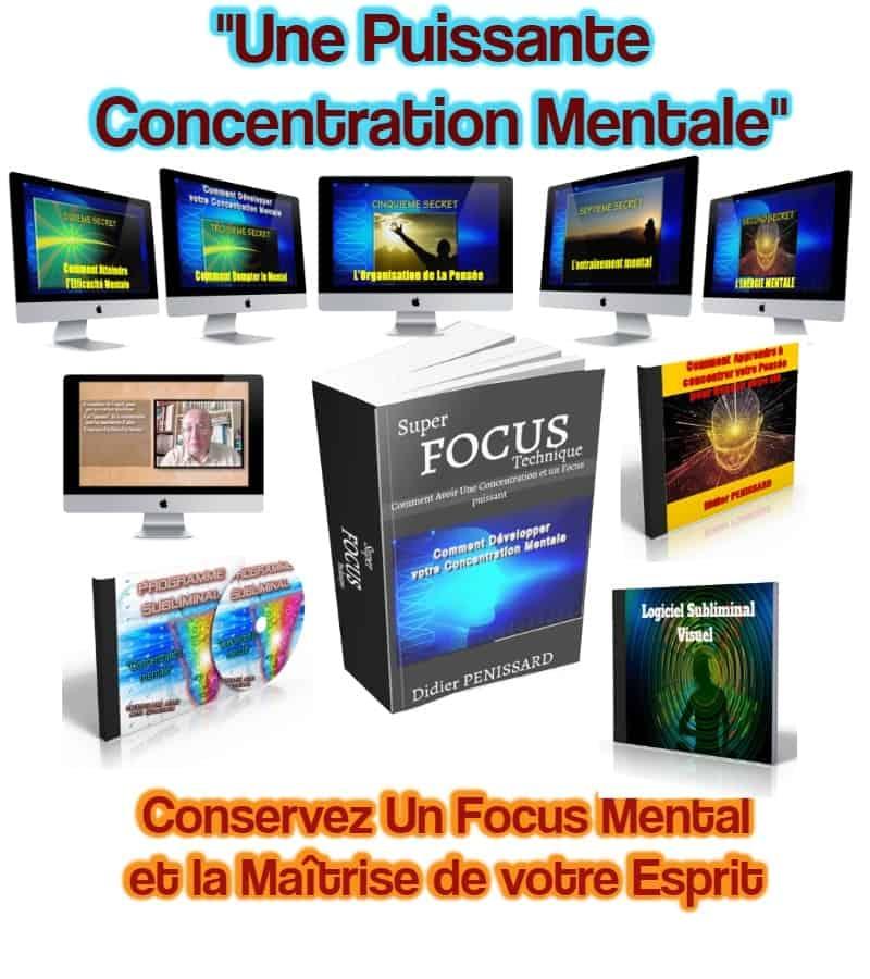 Développer sa concentration mentale