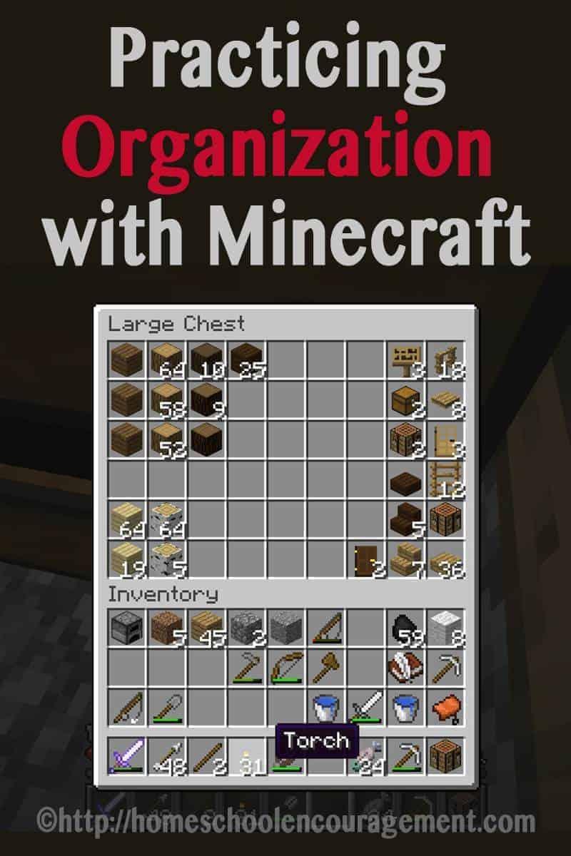 Practicing Organization With Minecraft