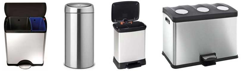 dubbele-prullenbak-afvalbak-drie-vakken-in-de-keuken
