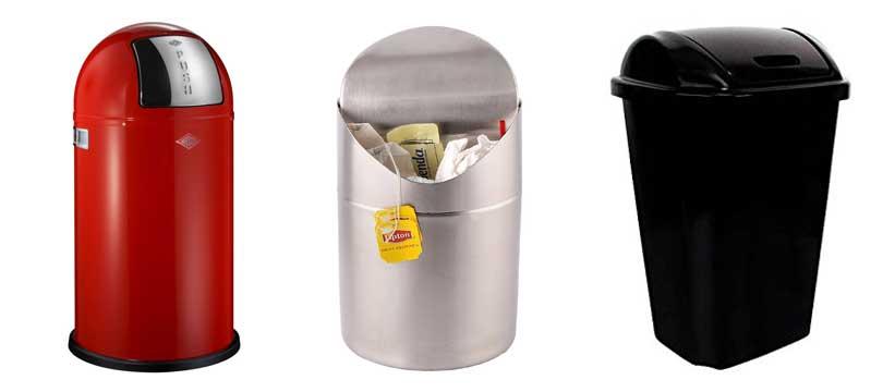 manual-trash-cans-swing-lid-push-lid