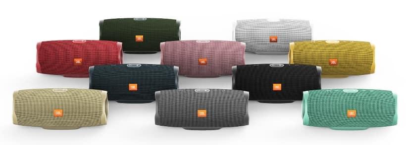 JBL Charge 4 colores disponibles