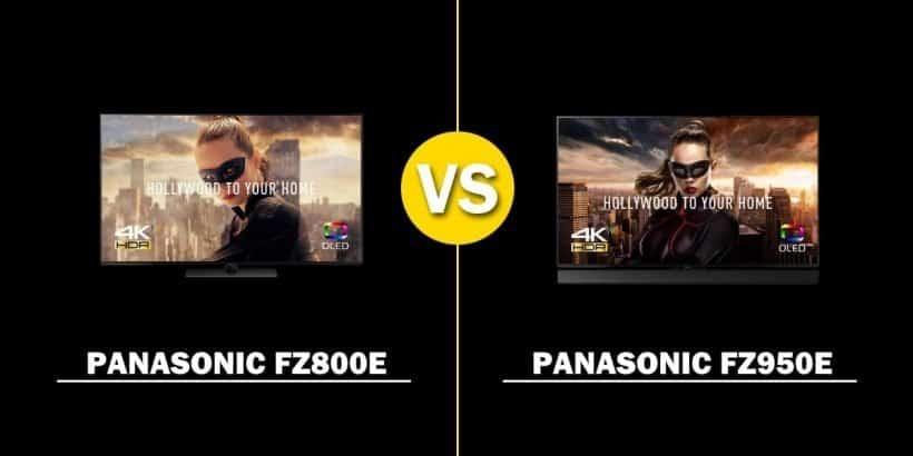 Comparativa TV OLED 2018 Panasonic FZ800E vs. FZ950E