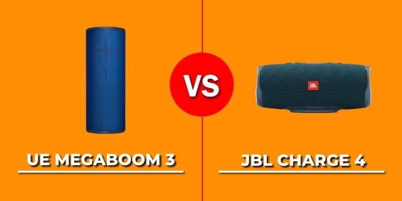 Comparativa UE Megaboom 3 vs. JBL Charge 4