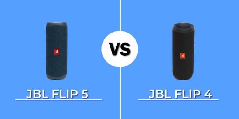 Comparativa JBL Flip 5 vs. Flip 4