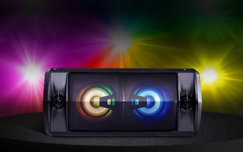 Altavoz de gran potencia LG FJ5