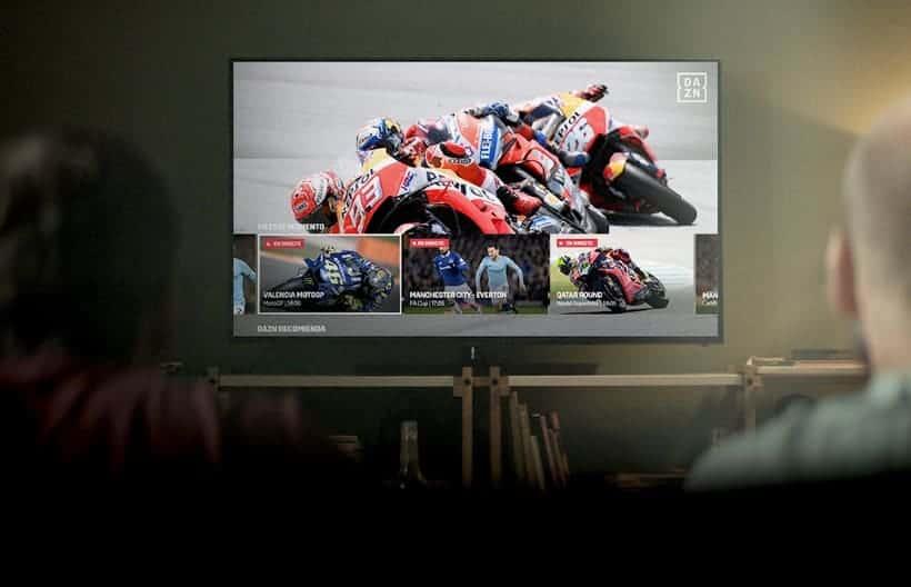 DAZN España ver Moto GP online