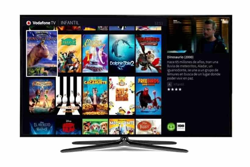App Vodafone TV en televisores Samsung