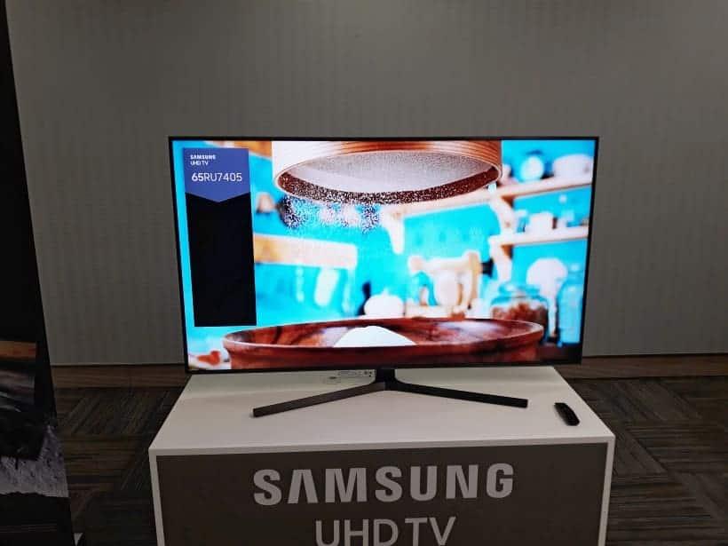 Samsung RU7405 UHD 2019