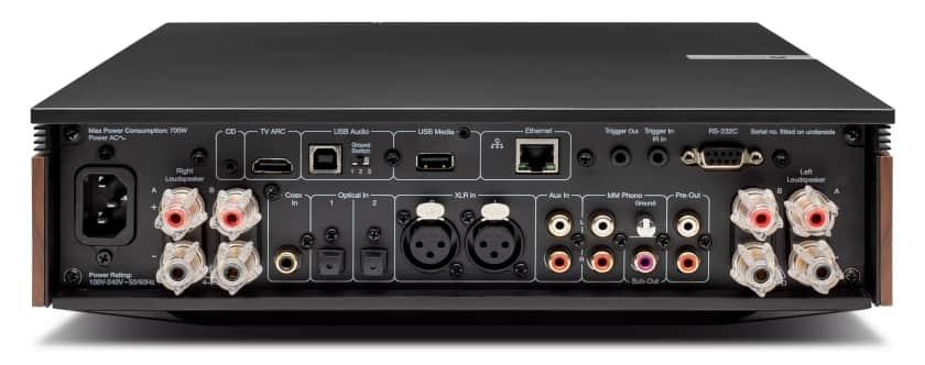 Conexiones reproductor Cambridge Audio Evo 150