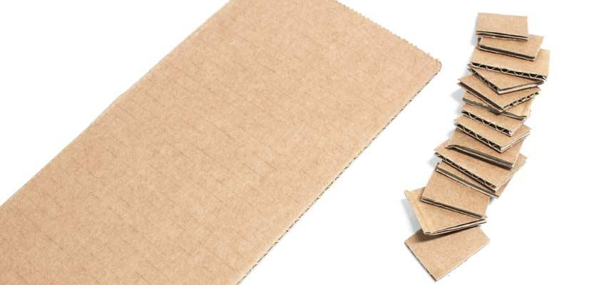 cardboard-chips-of-corrugated-cardboard-plates