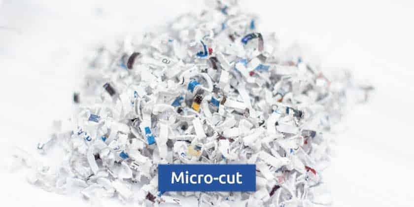 Micro-cut-shredder-particles