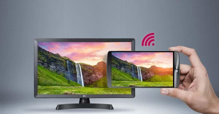 LG 28TL510S-PZ Miracast Screen Mirroning