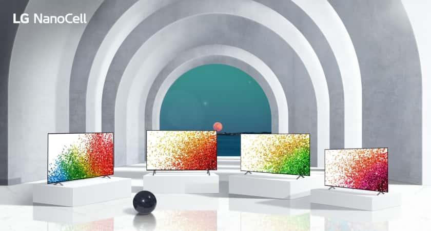 Gama de televisores 2021 NanoCell de LG