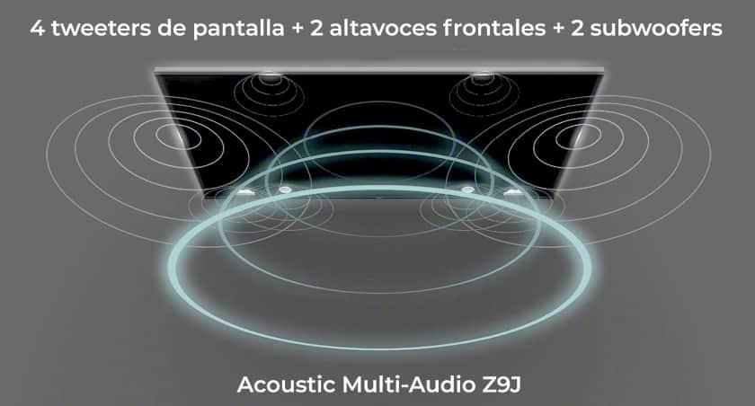 Sistema de sonido Acoustic Multi-Audio Z9J