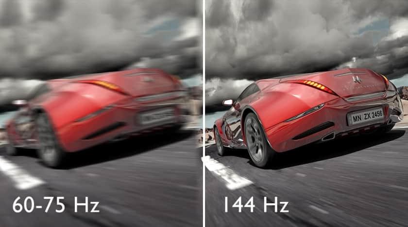 Frecuencia de refresco de 144 Hz en los monitores Benq EX2710 y EX2510