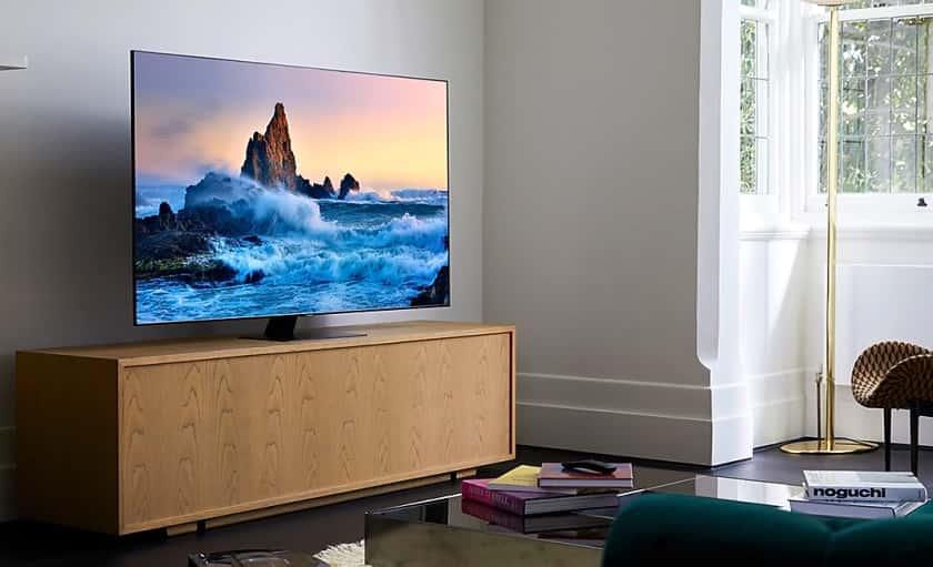 TV Samsung Q80T con Q-Symphony y OTS