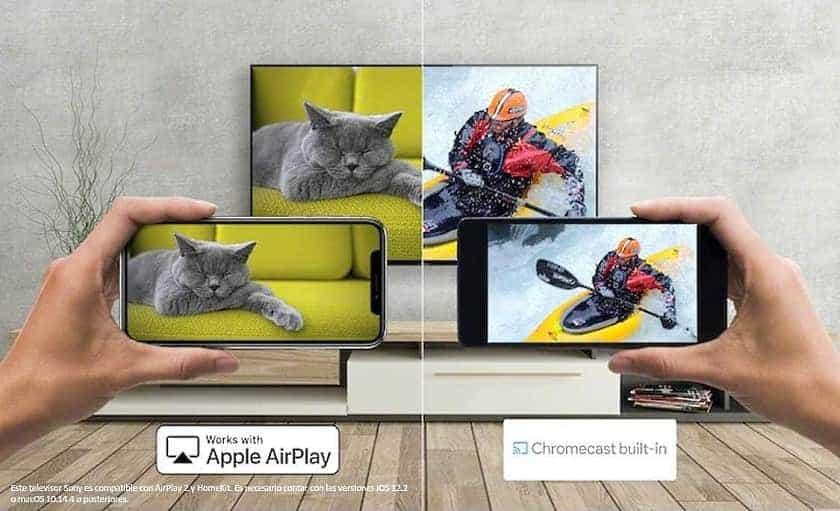 Airplay 2 y Chromecast integrados en las series X80J  y X81J