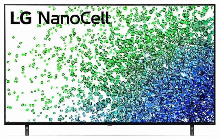 LG NanoCell serie NANO806