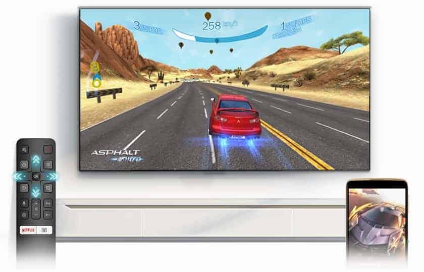 Televisor para gaming TCL P615