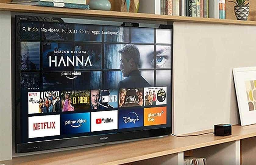 Interfaz nuevo Amazon Fire TV Cube Smart TV