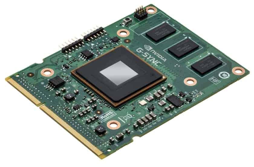 Procesador NVIDIA G-Sync