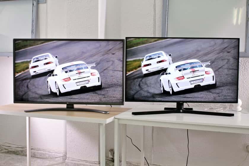 LG UN81006 vs. Samsung TU8505 Comparativa