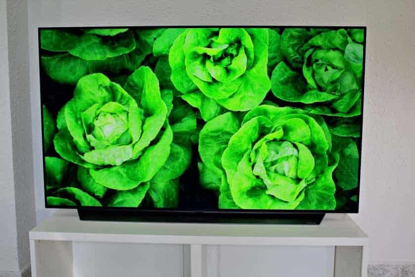 Reproducción de color OLED C9 de LG
