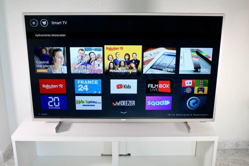 Smart TV Saphi PUS 7555 y PUS 7505