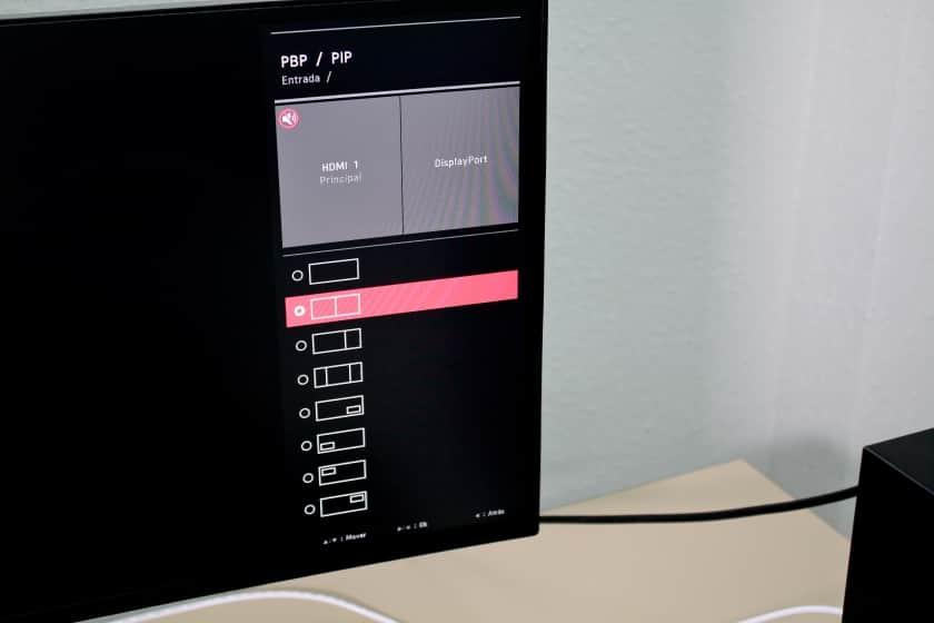 Modo PIP para partir pantalla