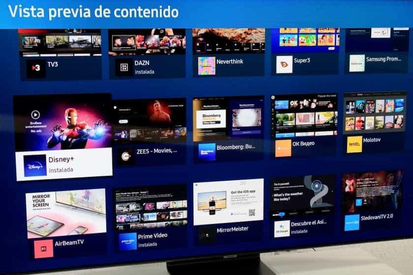 Smart TV sistema operativo Tizen 5.5