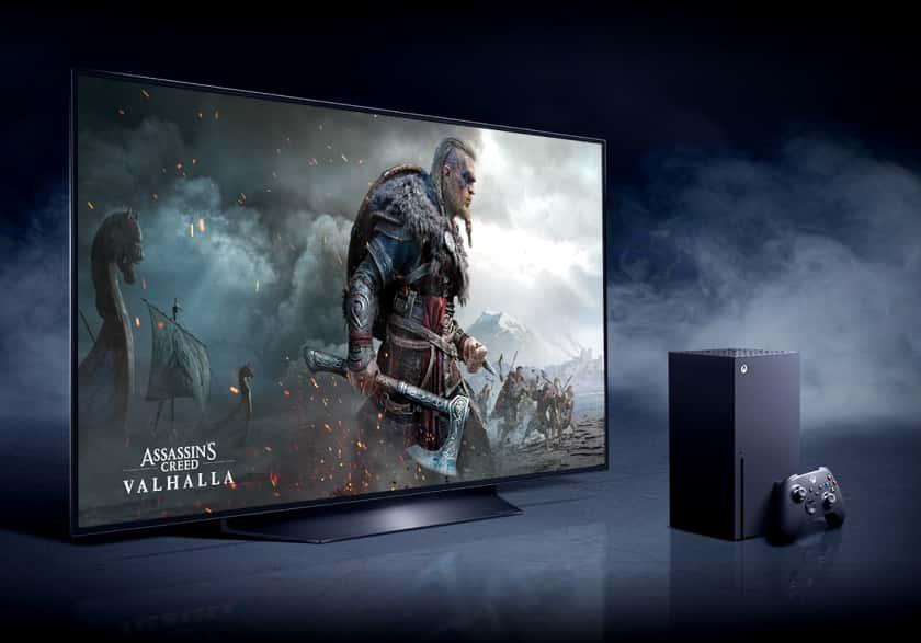 LG OLED con HDMI 2.1 y VRR para Xbox Series X