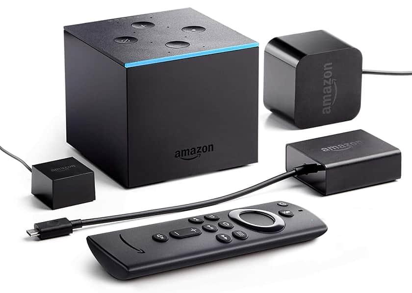 Accesorios incluidos Amazon Fire TV Cube 4K 2020