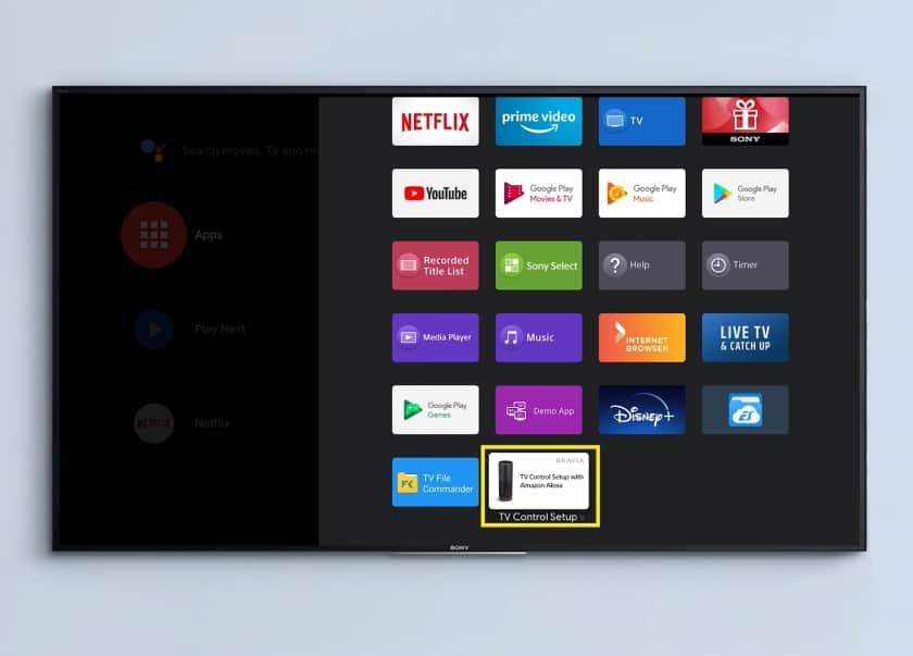 Como configurar Alexa en un televisor Android TV