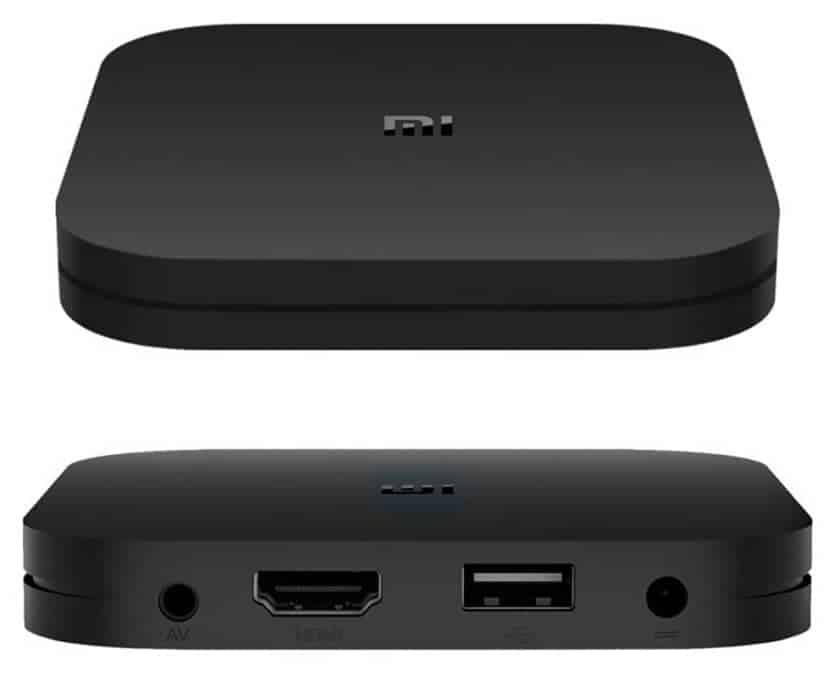 Diseño y conexiones reproductor con Android Mi TV Box S de Xiaomi