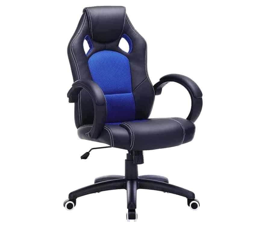 Songmics OBG56L Racing - Las mejores sillas gaming de 2021