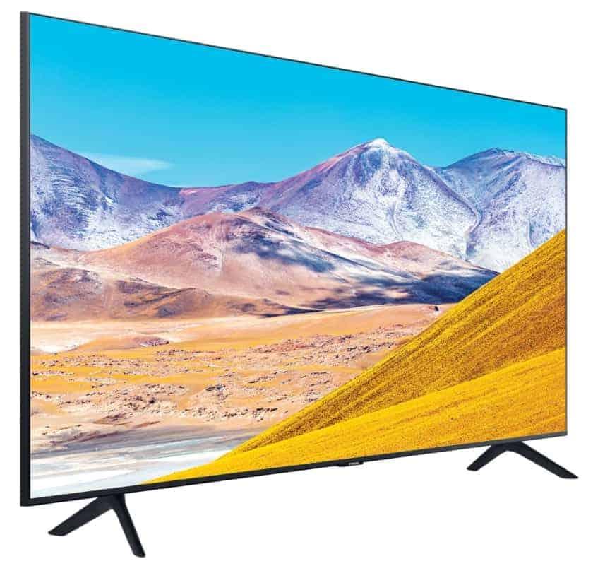 Diseño TV Samsung TU8005 - TU8000 UHD 4K 2020