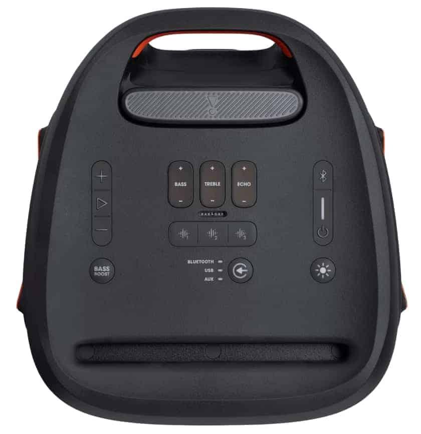 Consola central y botones JBL PartyBox 310