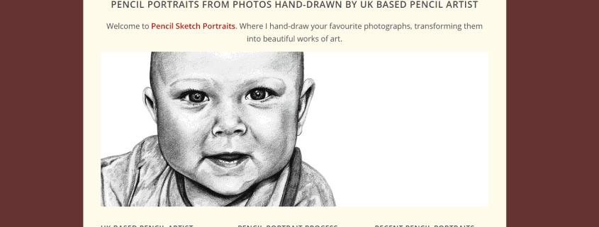 Pencil Sketch Portraits Website