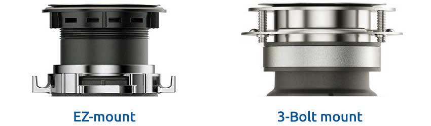 waste-king-ez-mount-vs-3-bolt-mount