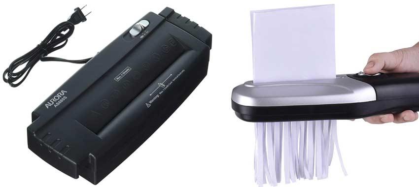 handheld-paper-shredder-without-wastebasket
