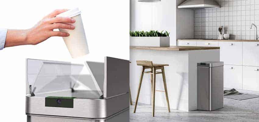 motion-sensor-trash-can-in-kitchen