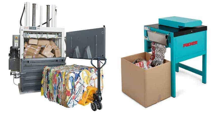 cardboard-baler-and-cardboard-perforator-shredder