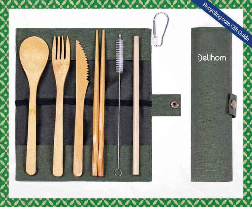 Delihom-Bamboo-Travel-Utensil-Set